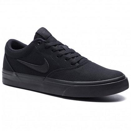 Кеды Nike SB Charge Solarsoft Textile black\black