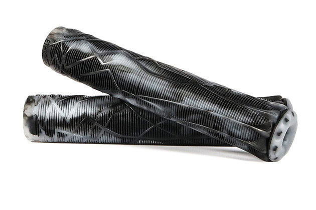 Грипсы Ethic rubber grips - black/transparent