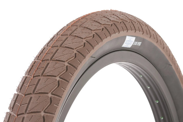 """Покрышка Sunday Current Tires - 20"""" 20x2.40 - Brown / Black Wall"""