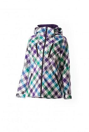 Куртка Rehall USHI AOP Slanted Checks Ocean Blue
