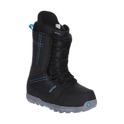 Ботинки Burton INVADER BLACK/CYAN