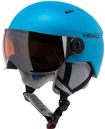 Шлем HEAD SQUIRE  blue с визором