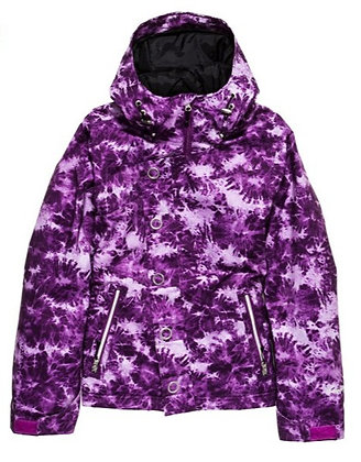 Куртка BETTYRIDES Dynasty Nikki Jacket PURPLE TIE DYE