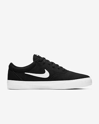 Кеды Nike SB Charge Solarsoft Textile black\white