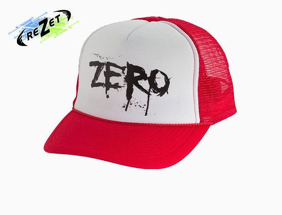 Кепка Zero Blood Trucker wht/red
