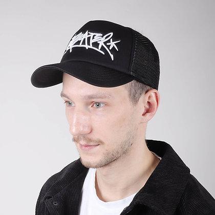Кепка Anteater trucker-black_whitetag