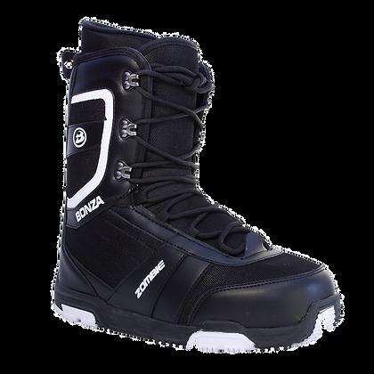 Ботинки Bonza  ZOMBIE black/white