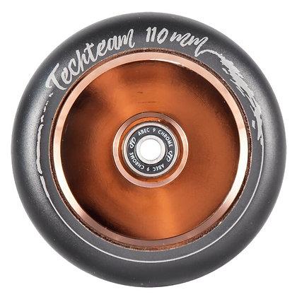 Комплект колес Tech Team 110мм, Hollow Old Boy коричн.