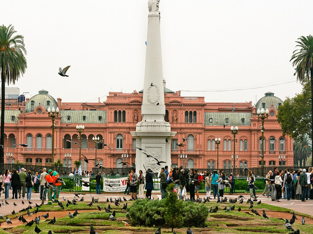 PLAZA DE MAYO AND HISTORICAL PLACE