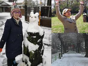 Teacher's Voice: Let's make a snowman