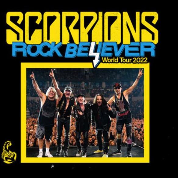 Scorpions Rock Believer Tour 2022