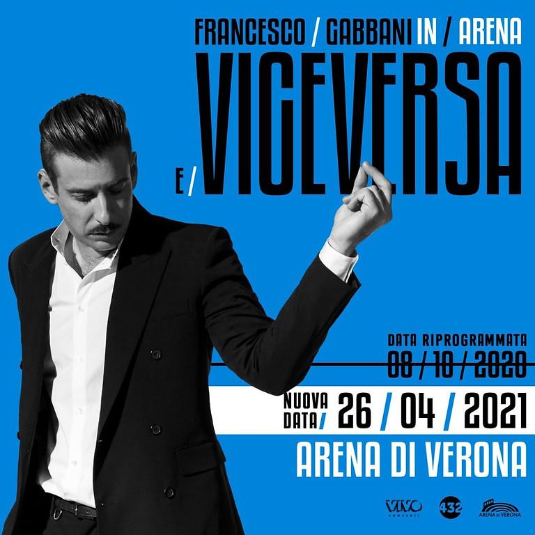 Frencesco Gabbani   Arena di Verona