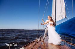 """Свадьба на яхте """"Электра"""""""