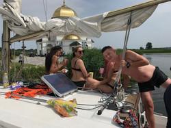 Поход на яхтах в Каневское море (11)