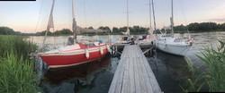 Поход на яхтах в Каневское море (2)