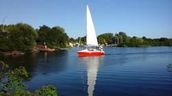 Яхта Дример.
