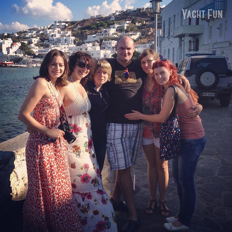 Киклады Греция Yacht Fun (18)