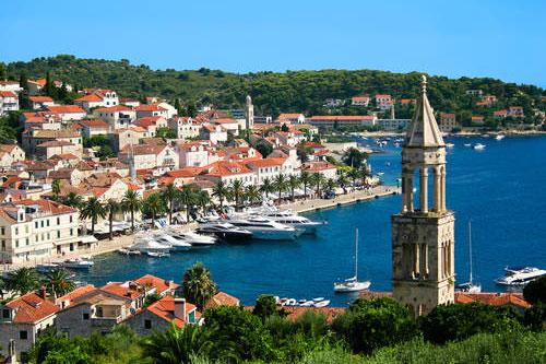 Хорватия на яхте Сплит (7)