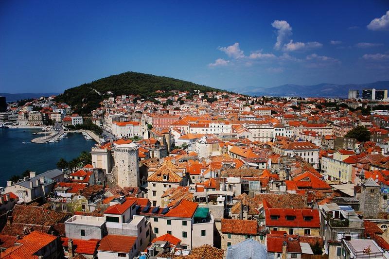 Хорватия на яхте Сплит (10)