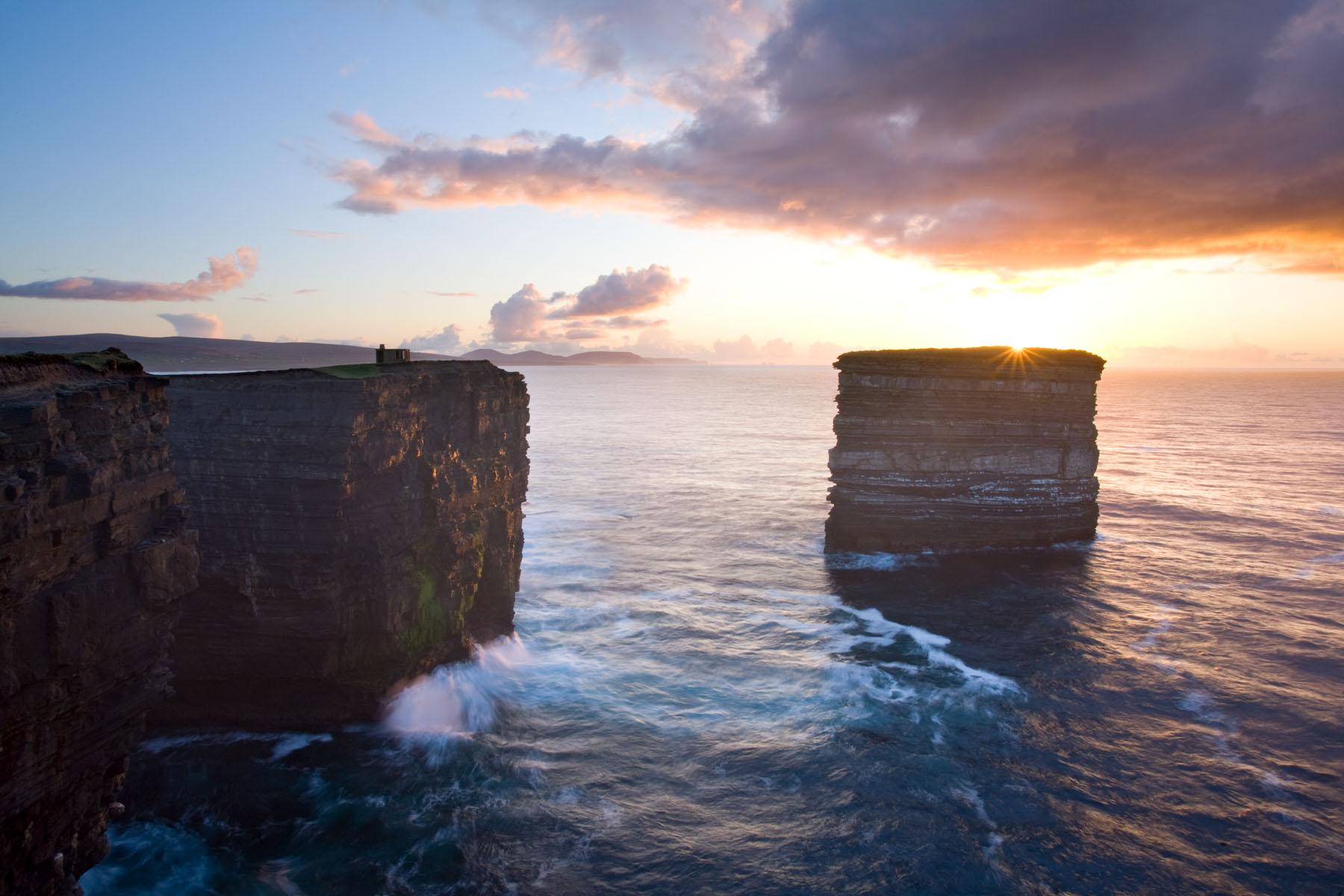 Sunset_Downpatrick_Head_Mayo
