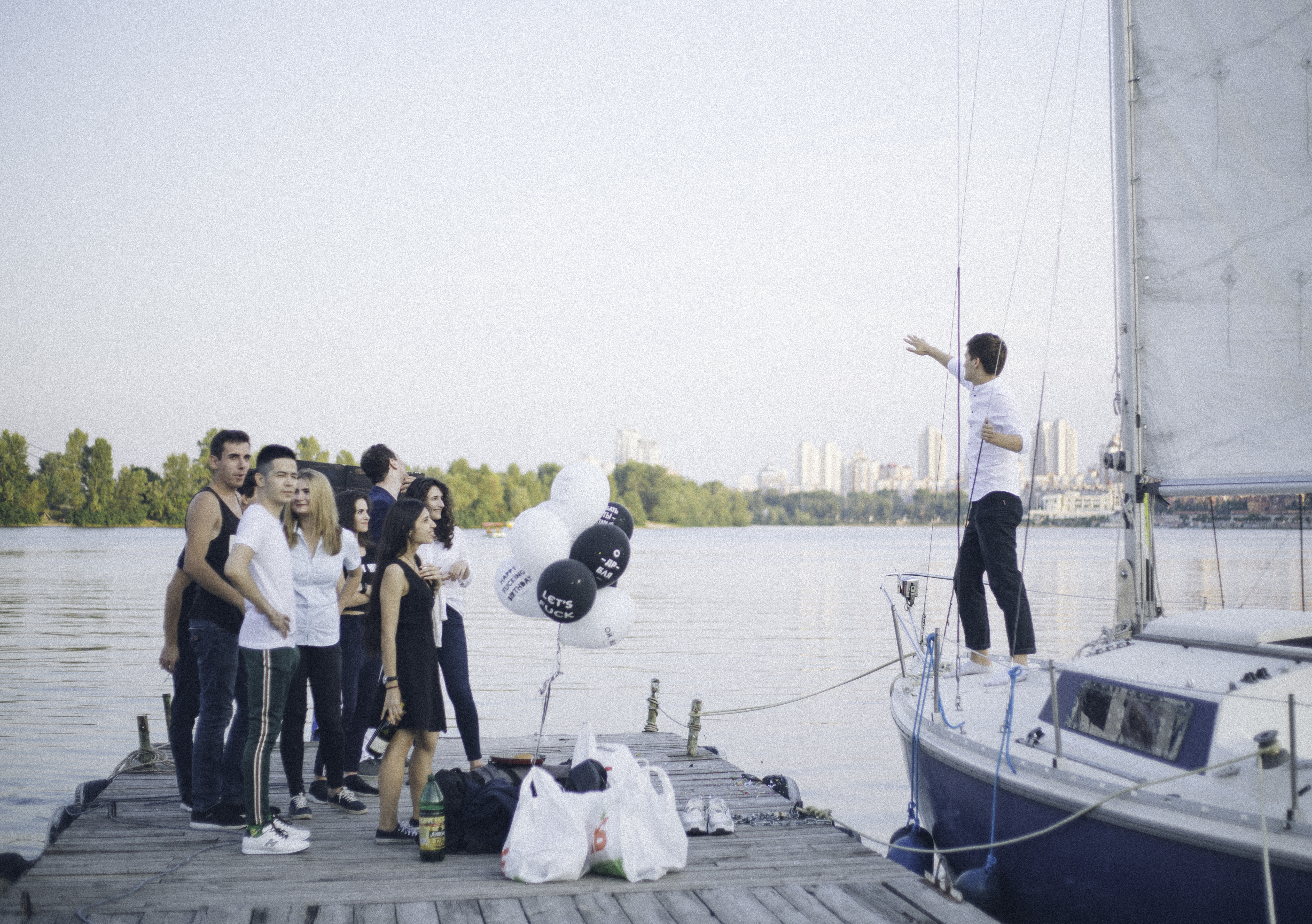 Праздник на яхте