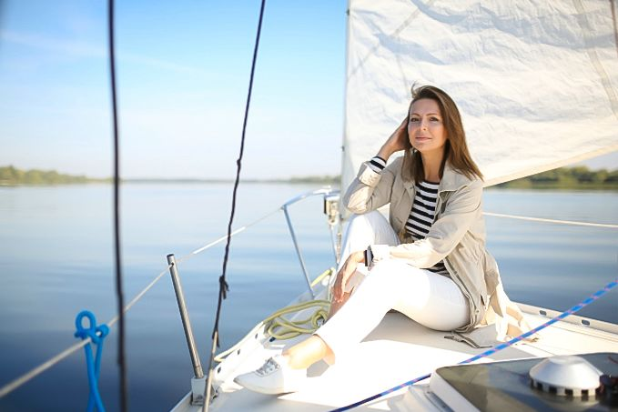 Фотосессия на яхте Вальхалла