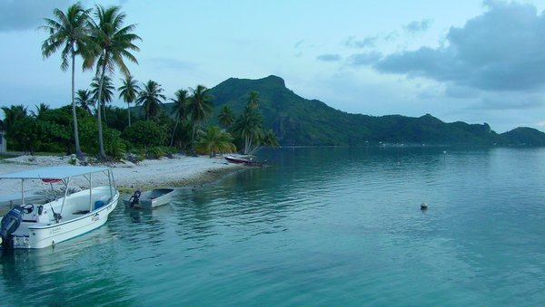 остров Маупити