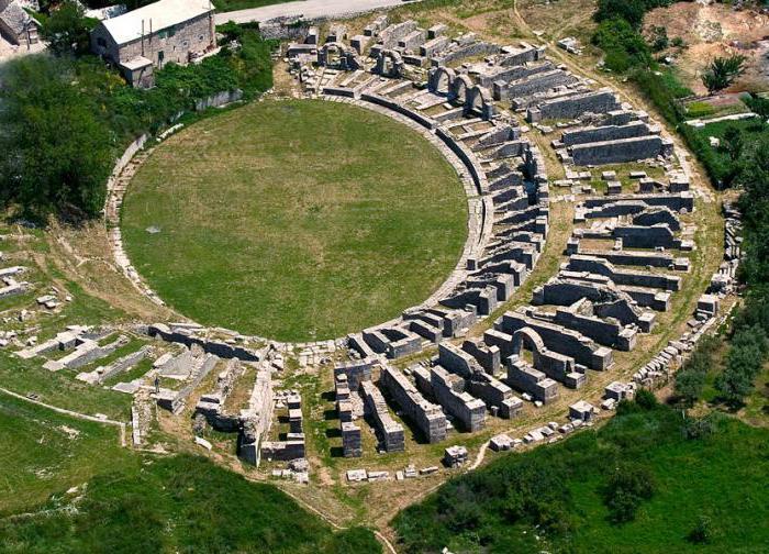 Развалины римской Салоны Сплит