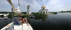 Поход на яхтах в Каневское море (6)