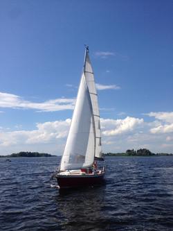 Яхта Дример Украинка