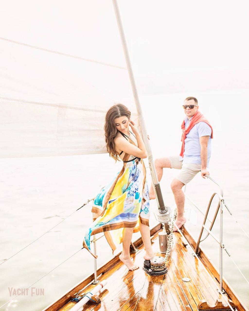 Лавстори на яхте Yacht Fun (5)