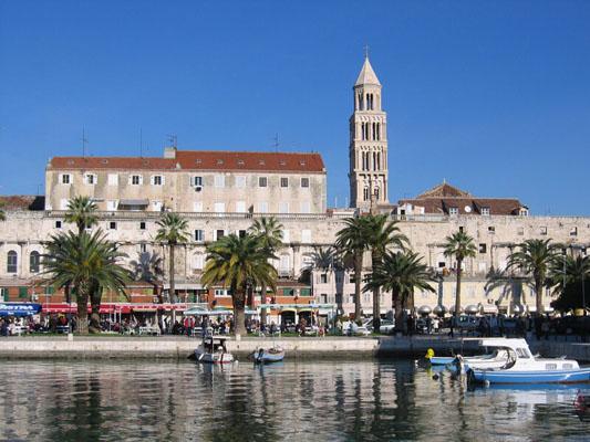 Хорватия на яхте, Сплит