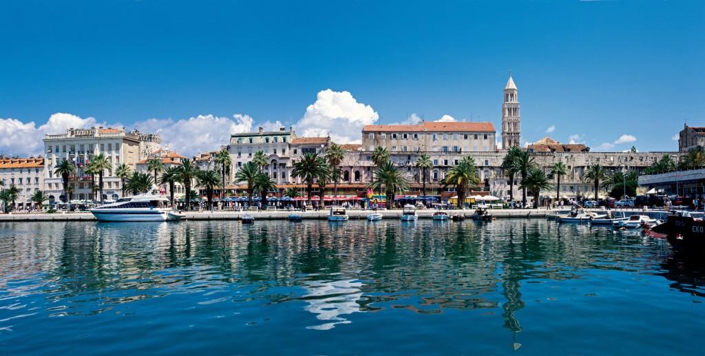 Хорватия на яхте Сплит
