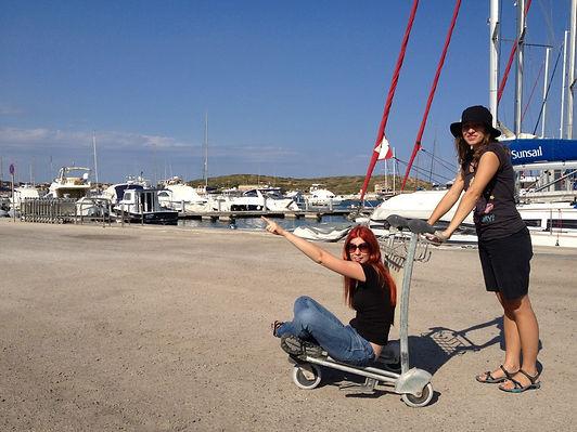 туристический яхтинг