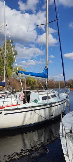 Яхта в Украинке