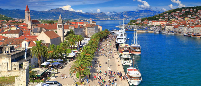 Трогир, Хорватия на яхте