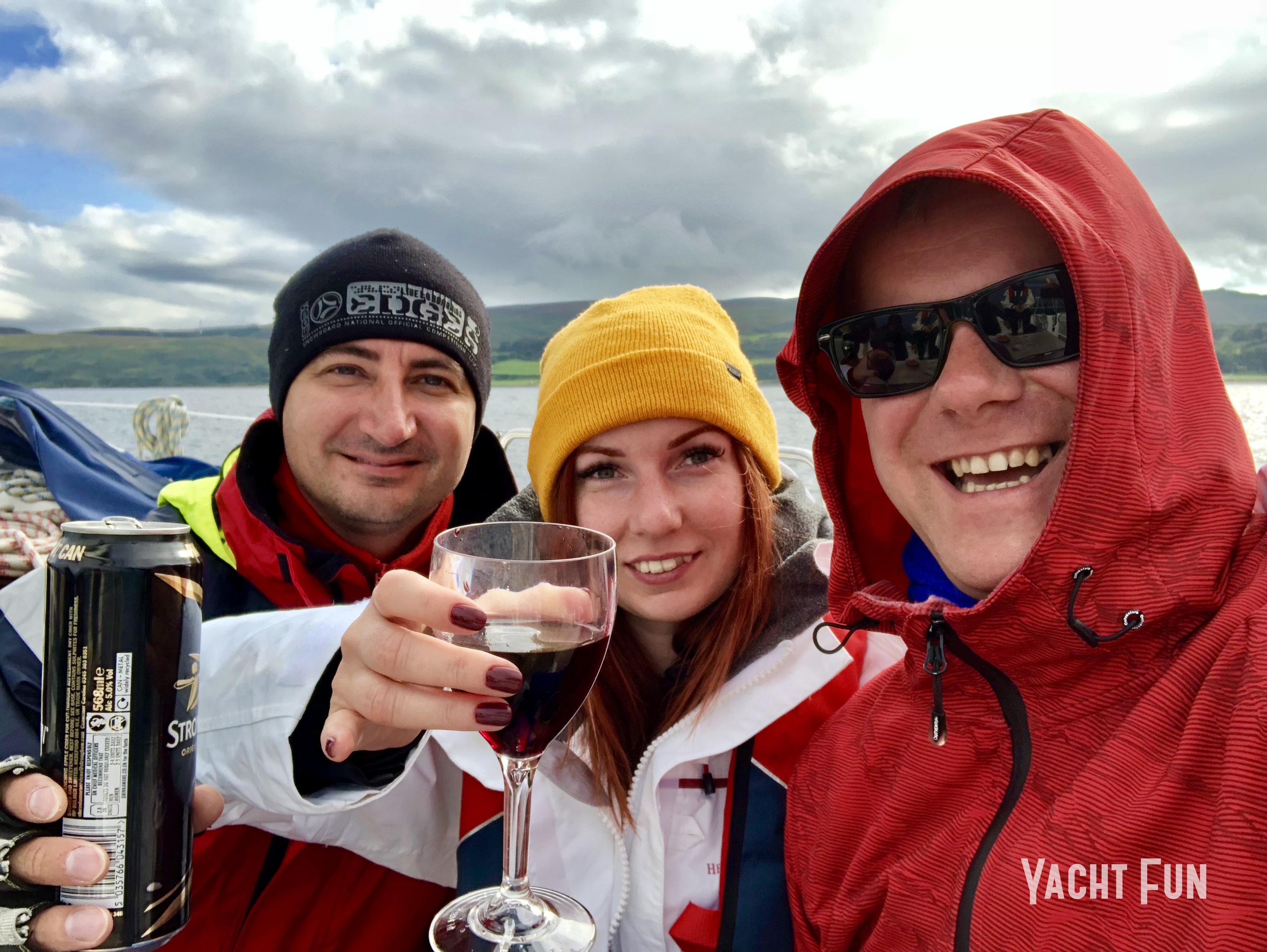 Команда Yacht Fun