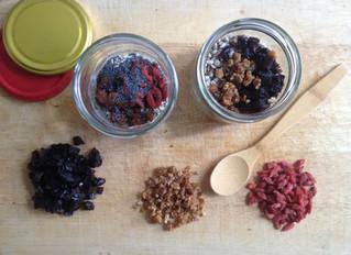 Zero-waste breakfast to-go (gluten-free/ nut-free/ sugar-free/ vegan)