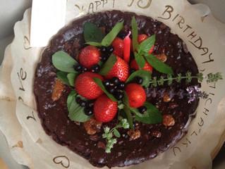 Peanut Butter Vegan Brownie Cake