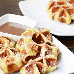 Waffle Bites y Gofres
