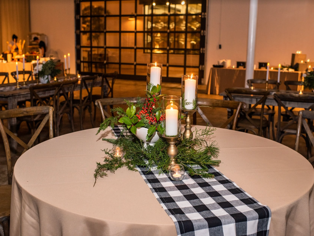 Corporate+Events CentricsIT+Adapture+Holiday+Party+The+Stave+Room Gingham+Runners+Lush+Holiday+Foliage+&+Candles+For+These+Holiday+Tables.png