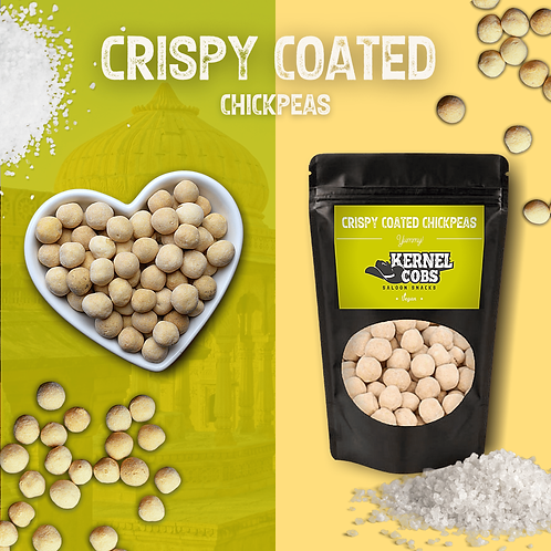 Crispy Crunchy Coated Chickpeas 820g Pillow Bag