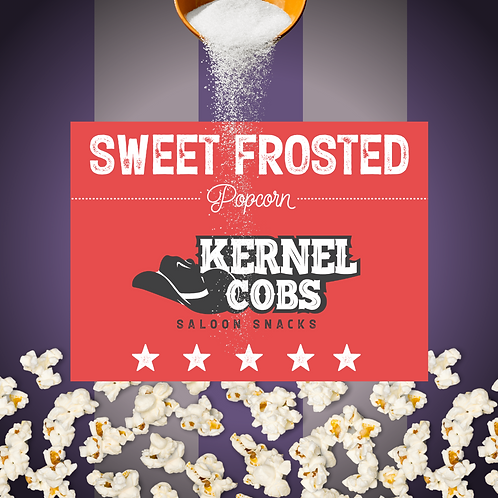 Sweet Frosted Popcorn 60g Pouch