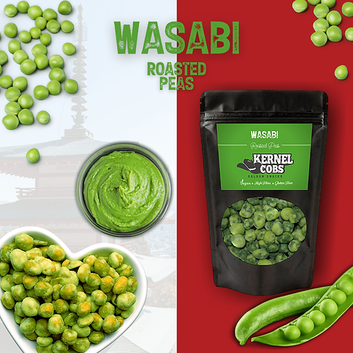 Wasabi Peas 390g Pouch