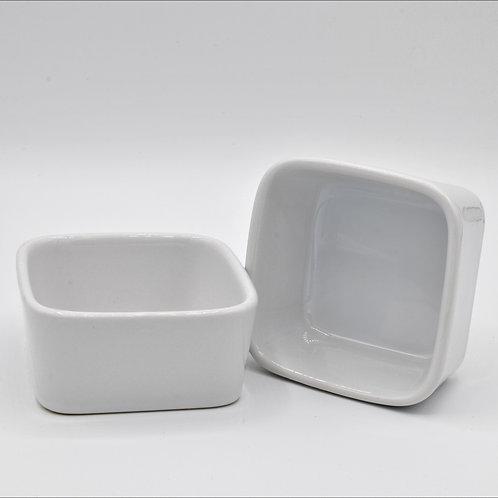 Serving Dish -Square White