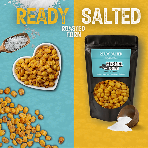 Ready Salted Roasted Corn 450g Pouch