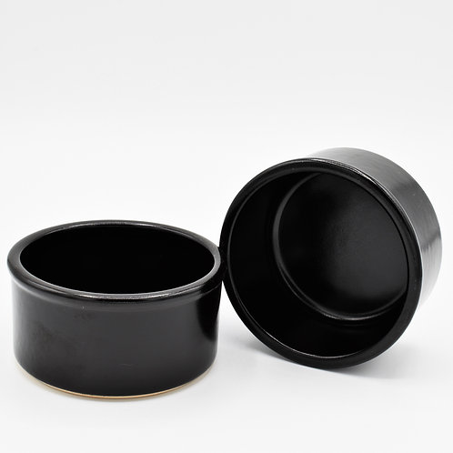 Serving Dish - Round Black