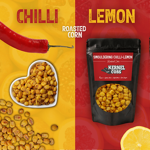 Smouldering Chilli-Lemon Roasted Corn 900g Pillow Bag