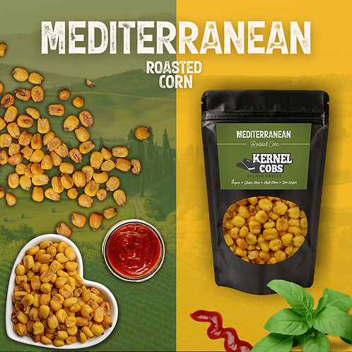 Mediterranean Roasted Corn 900g Pillow Bag