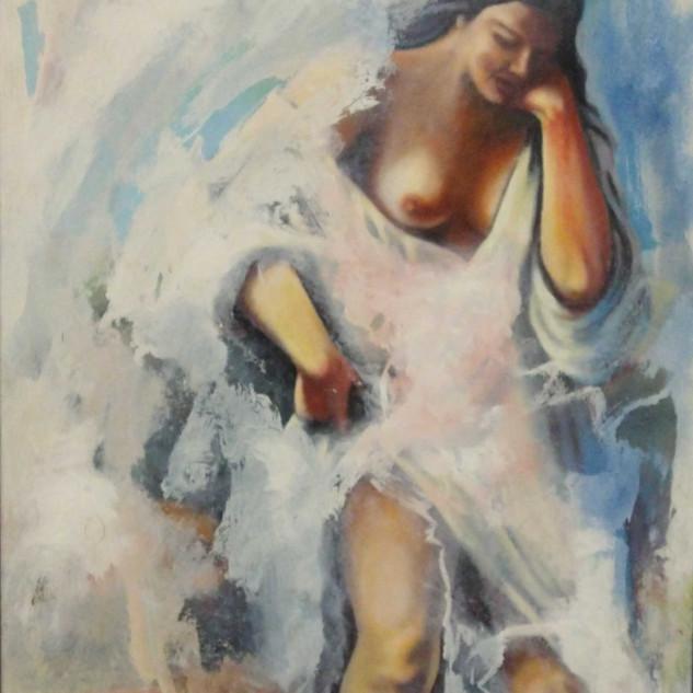 Fresco on Canvas